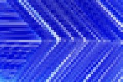 Line up blue angle Royalty Free Stock Image
