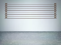 Line up grunge_III. Background of  a police lineup, vector illustration with copy space Stock Photos