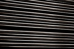 Line up metal tube Royalty Free Stock Image