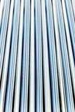 Line up metal tube Royalty Free Stock Photography