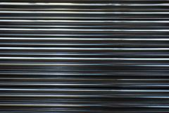 Line up stainless round tube Royalty Free Stock Images