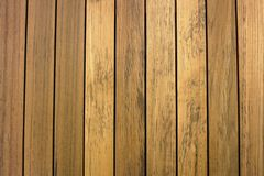 Line up teak wood background Royalty Free Stock Photos