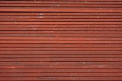 Line up tube of iron Stock Photo