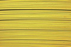 Line up yellow metal slat Royalty Free Stock Photography