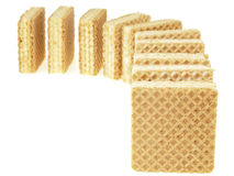 Line wafer domino Stock Images