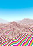 Line waves Stock Photo