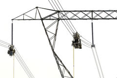 Electrical Line Workers Stock Image