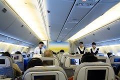 Linea aerea di Boeing Mongolia Fotografie Stock Libere da Diritti