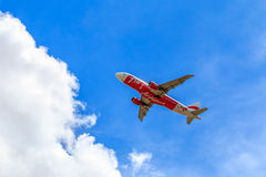 Linea aerea locale Fotografia Stock