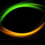 Linea astratta di velocità del chiarore del fondo di fusione Immagine Stock Libera da Diritti