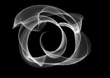 Linea astratta illustrazione insolita del ricciolo del fondo Fotografia Stock