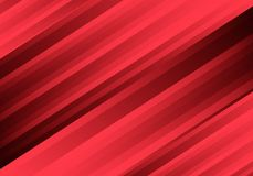 Linea astratta vettore futuristico moderno della luce rossa del fondo di tecnologia di progettazione del modello di velocità Fotografie Stock