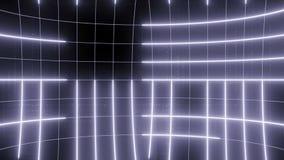 Linea astratta viola pallida del CICLO del fondo di moto video d archivio