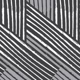 Linea bianca nera streptococco grigio di torsione del tessuto di rettangolo diagonale del modello Immagini Stock