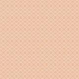 Linea bianca sottile modello dell'estratto su beige Fotografie Stock