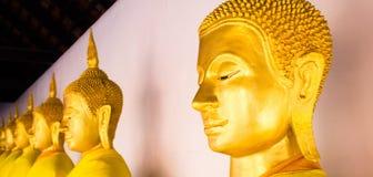 Linea Buddha Fotografie Stock