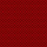Linea cinese d'annata senza cuciture fondo dell'incrocio dei trafori della finestra del modello del diamante illustrazione vettoriale