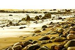 Linea costiera Fotografia Stock Libera da Diritti