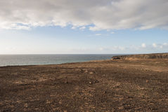 Linea costiera Immagini Stock