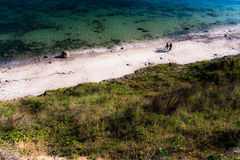 Linea costiera immagine stock