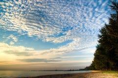 Linea costiera Fotografie Stock Libere da Diritti