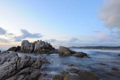 Linea costiera Fotografia Stock