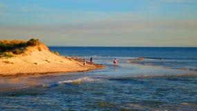 Linea costiera australiana immagine stock