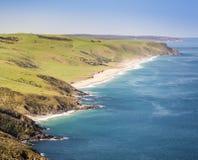 Linea costiera australiana Fotografia Stock
