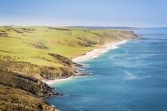 Linea costiera australiana Fotografie Stock