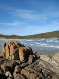 Linea costiera australiana Fotografia Stock Libera da Diritti