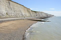 Linea costiera a Brighton sussex l'inghilterra Fotografie Stock