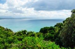 Linea costiera a Byron Bay Immagini Stock Libere da Diritti