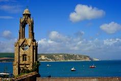 Linea costiera del Dorset fotografia stock