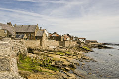 Linea costiera del Fife Fotografia Stock Libera da Diritti