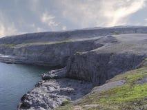 Linea costiera del Labrador Fotografia Stock