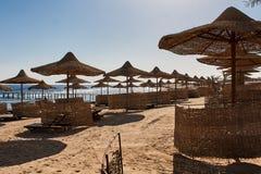 Linea costiera del Mar Rosso in Sharm el-Sheikh immagini stock
