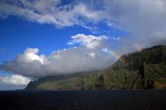 Linea costiera del Na Pali, Kauai Immagini Stock Libere da Diritti