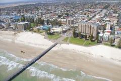 Linea costiera del sud di vista aerea Immagini Stock Libere da Diritti