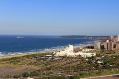 Linea costiera del Sudafrica Durban Fotografia Stock