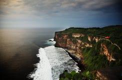 Linea costiera dell'isola del Bali Immagini Stock