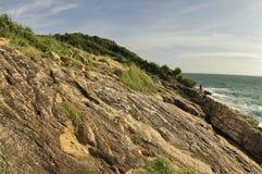 Linea costiera dell'isola di Samet Fotografie Stock Libere da Diritti