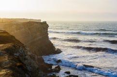 Linea costiera dell'oceano Immagini Stock Libere da Diritti