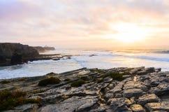 Linea costiera dell'oceano Fotografia Stock Libera da Diritti