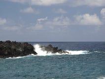 Linea costiera dell'oceano Fotografia Stock