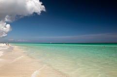 Linea costiera dell'oceano Fotografie Stock