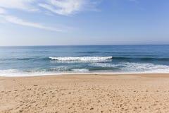 Linea costiera dell'oceano della spiaggia Fotografia Stock