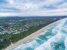 Linea costiera dell'oceano in Nuovo Galles del Sud Fotografia Stock Libera da Diritti