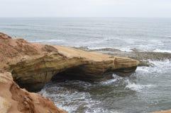 Linea costiera dell'Oceano Pacifico Fotografia Stock
