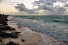 Linea costiera dell'oceano Pacifico, Cuba Fotografia Stock Libera da Diritti