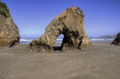 Linea costiera della California Fotografia Stock Libera da Diritti